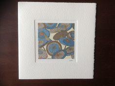 MISU card design | parasols Japanese Paper, Silk Screen Printing, Woodblock Print, Wool Felt, Watercolor Art, Pure Products, Prints, Cards, Handmade