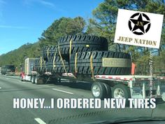 New and Improved BIGGER Jeep Tires on the way ...