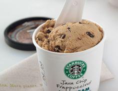 Java chip frappucino ice cream.