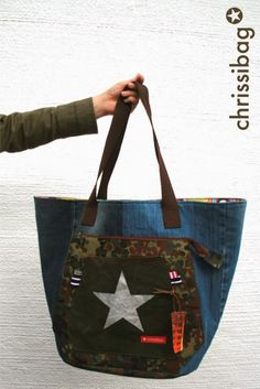 chrissibag: Multi-Markttasche - Chrissi mixt mit Farbenmix!