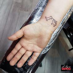 #t-rex #unicorn #tattoo #lamagratattoo