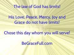 Peace is found Only in His True Grace!