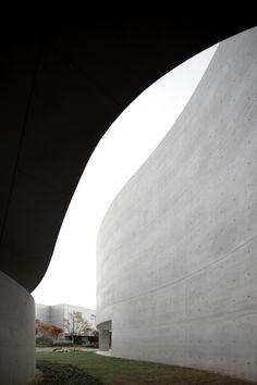 Mimesis Museum /Alvaro Siza+Castanheira & Bastai Arquitectos Associados+ Jun Sung Kim Paju Book City, Republic of Korea Photographs:FG+SG – Fernando Guerra, Sergio Guerra