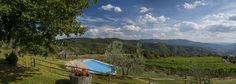 #Tuscan hills around Arezzo. Spring everyday's view from Pomaio