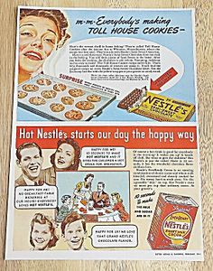 1941 Nestle's With Cookies & Cocoa