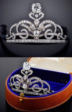 Very Important Diamond Tiara, Victorian.