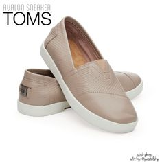 TOMS avalon embossed slip ons NEW in box, never used- comfortable, simple classic look. perfect with jeans shorts on these spring days/nights.  size- 5.5 fits true to size material- embossed leather upper, cupsole bottom  due to lighting- color of actual item may vary from photos.  please don't hesitate to ask questions. happy POSHing    use offer feature to negotiate price on single item  i do not trade or take any transactions off poshmark, so please do not ask. TOMS Shoes Flats & Loafers