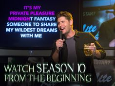 Being a demon wasn't all bad. Watch season 10 from the beginning, starting TONIGHT! Supernatural Actors, Star Watch, Winchester Boys, Super Natural, Destiel, Family Business, Man Alive, Big Bang Theory, Superwholock
