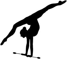 Free for personal use Gymnast Silhouette of your choice Gymnastics Tattoo, Rhythmic Gymnastics, Hard Drawings, Anime Drawings Sketches, Silhouette Clip Art, Silhouette Images, Inspirational Gymnastics Quotes, Gymnastics Wallpaper, Gymnastics Tricks