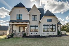 Stunning rear elevation - Waxhaw, NC - Custom Home by Grandfather Homes