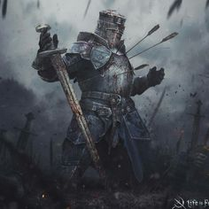 ArtStation - LiF, Marina Krivenko You are in the right place about fantasy art Here we offer you the Fantasy Concept Art, Fantasy Armor, Fantasy Character Design, Dark Fantasy Art, Character Art, Final Fantasy, Medieval Knight, Medieval Fantasy, Ornstein Dark Souls