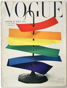 Irving Penn #Vogue #rainbow Roy G Biv