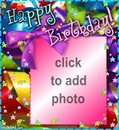 Happy Birthday Frames For Photos