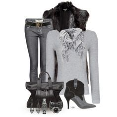 Sweater, Boots & Jeans