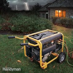 We outline the pros and cons of two types of emergency electrical generators—the portable type and the larger standby type—and tell you how to d