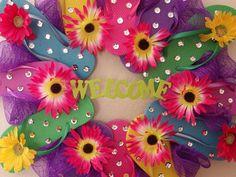 Flip Flop Wreath #1