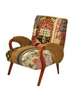 One-of-a-Kind Bokja Club Chair by nuLOOM at Gilt