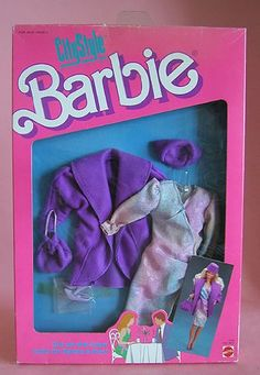 1980s Barbie, Mattel Barbie, Barbie And Ken, Vintage Barbie, Beautiful Barbie Dolls, Barbie Dream, Fashion Dolls, Fashion Dresses, Barbie Accessories