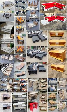 The Best and Easiest DIY Ideas with Recycled Wood Pallets - Wooden Pallet Ideas Pallet Beds, Wood Pallet Furniture, Headboard Shapes, Rough Wood, Pallet Designs, Shipping Pallets, Wooden Pallets, Pallet Wood, Pallet Creations