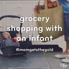 Let the games begin! Pin it if you think carrying groceries with a toddler on your hip deserves a gold medal, too!   #MomGetstheGold
