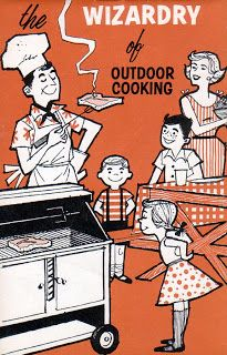 Roger Wilkerson, The Suburban Legend! — The Joy of Grilling Retro Images, Vintage Images, Vintage Food, Cute Illustration, Character Illustration, Retro Barbecue, Retro Advertising, Modern Art Deco, Light My Fire