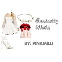 Basically White by pinkmilli on Polyvore featuring Gianvito Rossi