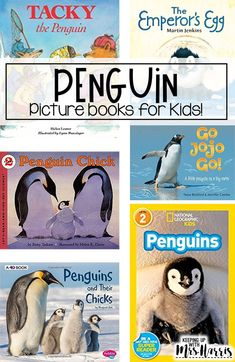 penguin book for kids - penguin read alouds - penguin picture books - Teaching Activities, Activities For Kids, Preschool Ideas, Teaching Ideas, Penguin Pictures, Read Aloud Books, National Geographic Kids, Thing 1, Penguin Books