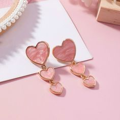 Simply adorable, The Berlin Classic Heart Dangle Earrings are truly a work of art. They go with everything and are the perfect statement piece! Cute Jewelry, Jewelry Box, Jewelry Accessories, Jewelry Design, Jewlery, Trendy Accessories, Heart Jewelry, Cute Earrings, Dangle Earrings