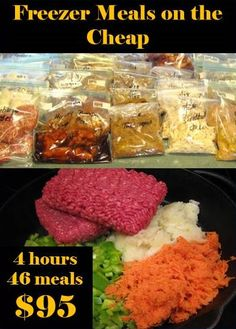 **Freezer Meals on the Cheap