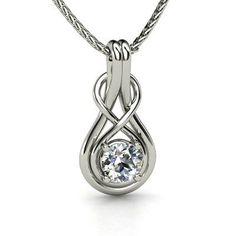 .15cttw Mia Diamonds 14kt White Gold Unisex Princess Diamond Solitaire Stud Earrings I2