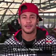 "jjazminerxoxo: "" Neymar speaking English """