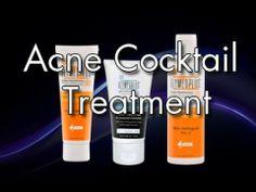 Acne Treatment Cocktail Tips. #glymed #acnetreatment #acnecocktail #acne