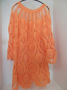 crochet top for sale at Dawanda Mehr Crochet Clothes, Pullover, Knit Crochet, Plus Size, Knitting, Paracord, Crafts, Dresses, Design