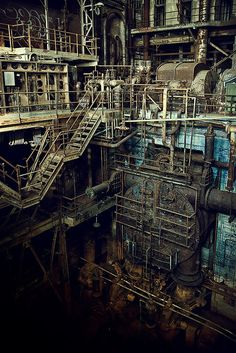 Abandoned Power Plant - New Orleans
