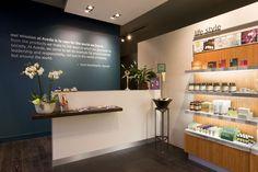 Aveda Lifestyle Salon & Spa flagship by Reis Design, Leeds beauty health