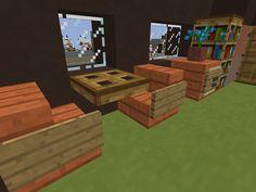 Interieur camper Minecraft http://proevenengeloven.blogspot.nl/2016/07/minecraft-monday-veel-fotos-en-een.html