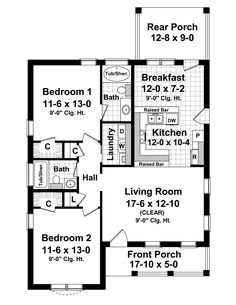 Plan No.210011 House Plans by WestHomePlanners.com