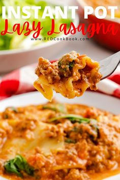 Dump and start lazy lasagna in the Instant Pot. It takes just a few steps and a few minutes to make this quick and easy family-friendly dinner. #instantpot #dinner #easydinner #lazylasagna #lasagna #pressurecooker #pasta #italiansausage Instant Pot Pasta Recipe, Best Instant Pot Recipe, Instant Pot Pressure Cooker, Pressure Cooker Recipes, Slow Cooker, Quesadillas, Burritos, Enchiladas, Avocado Toast
