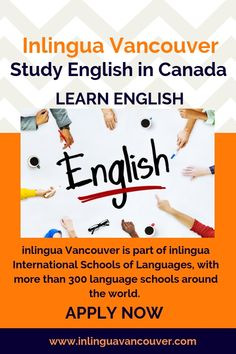 Are you looking for an English course online in Vancouver Canada? Visit Inlingua Vancouver to study English in Canada. English Course Online, English Language Course, English Study, Learn English, Schools Around The World, Language School, International School, Online Courses, Vancouver