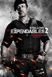 Sylvester Stallone as Barney Ross - The Expendables 2