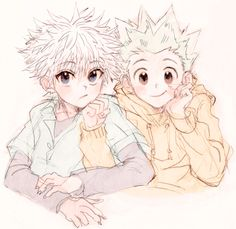 Hunter x Hunter | HXH | Killua | Zoldyck | Gon | Freecss | Anime