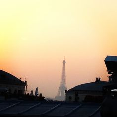 8. favourite #marchphotoaday mà fav #shoot in #Paris on the #roofgarden ❤ #home #sunset #love