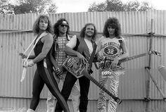 Van Halen - David Lee Roth, Alex Van Halen, Michael Anthony And Eddie Van Halen - 1980S, Van Halen - David Lee Roth, Alex Van Halen, Michael Anthony And Eddie Van Halen - 1980S
