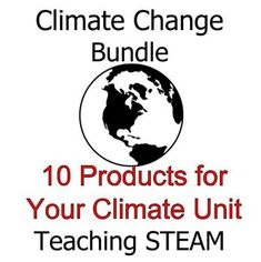 This Climate Change bundles includes labs, data analysis activities, thoughtful practice, and projects presented in order to teach all about the science of climate. All materials in the Climate Change Bundle are available for individual purchase. Below is a complete list of what you will receive.