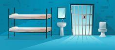 jail cell prison door interior lattice grid backgrounds premium della cartoon freepik anime toilet episode cartoons interactive cella carceraria reticolo
