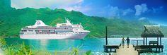 Visit islands beyond the ordinary—Tahiti, Bora Bora, Moorea, Huahine, Taha'a—in comfort and style aboard the award-winning m/s Paul Gauguin.    #pgcruises