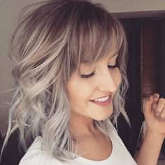 Short-Balayage-Hair-with-Bangs.jpg (500×500)
