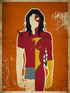 Spider-Woman, a.k.a. Jessica Drew