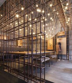 The Noodle Rack Restaurant,  📐 Lukstudio (2015),  📍 Hunan #China