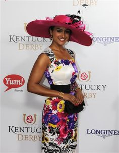 Nina Davuluri, Miss America 2014, attends the 140th Kentucky Derby at Churchill Downs in Louisville, Ky., on May 3, 2014.